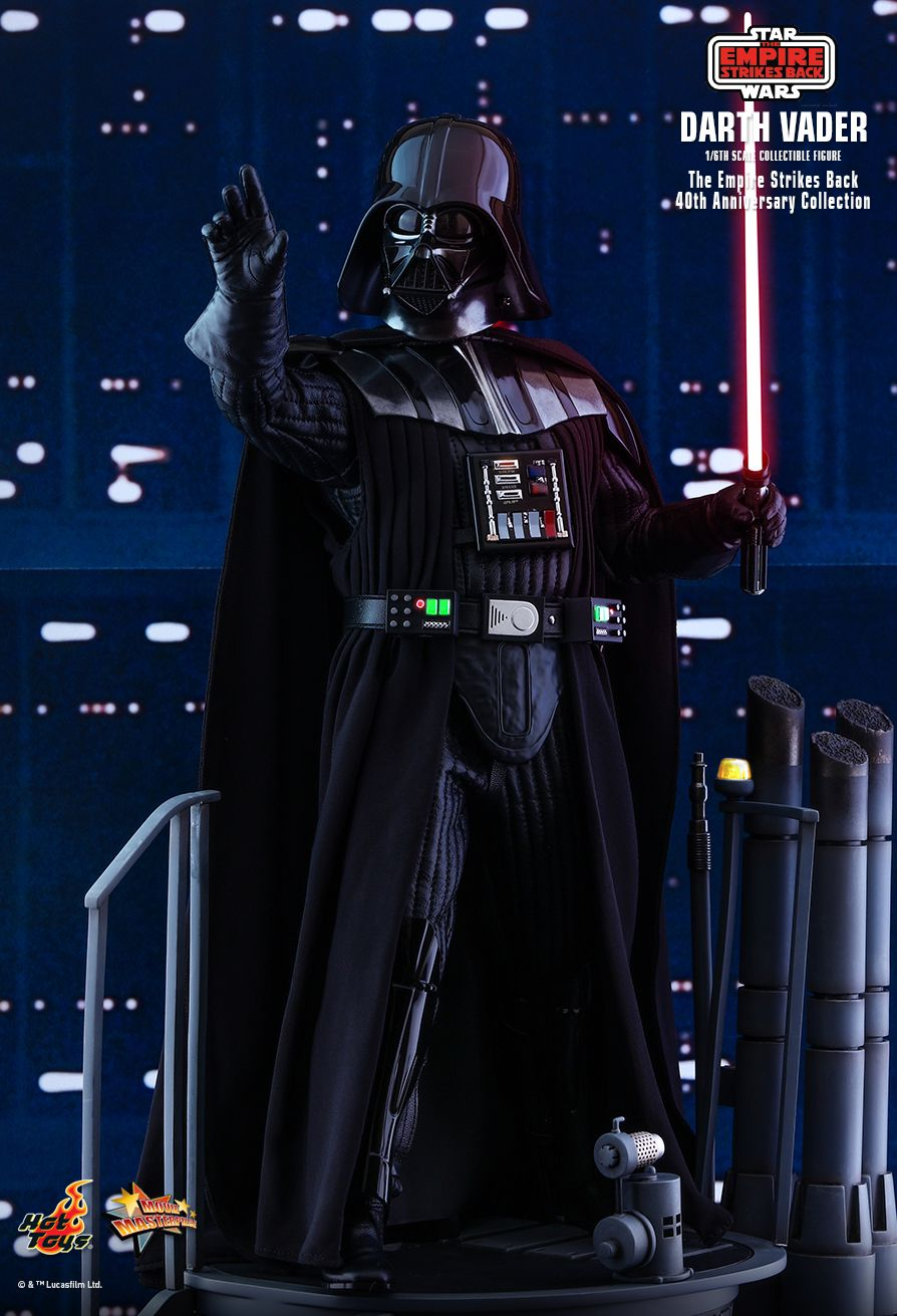 40thAnniversaryCollection - NEW PRODUCT: HOT TOYS: STAR WARS: THE EMPIRE STRIKES BACK™ DARTH VADER™ (40TH ANNIVERSARY COLLECTION) 1/6TH SCALE COLLECTIBLE FIGURE 7311