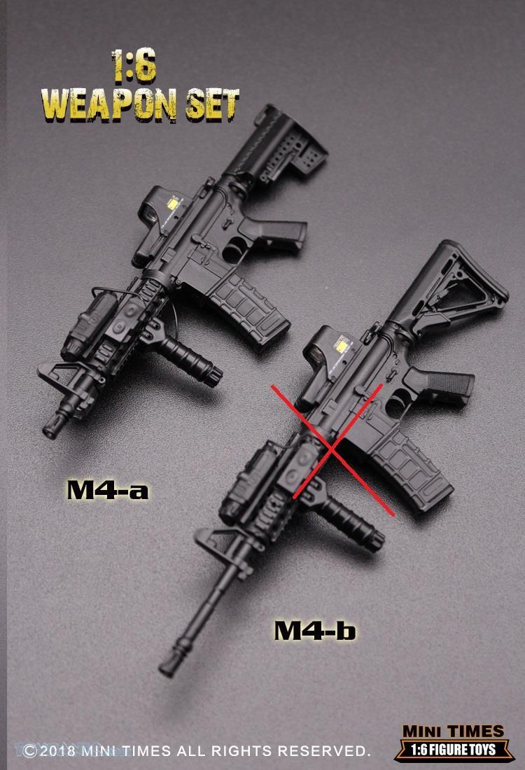 minitimes - NEW PRODUCT: MINI TIMES TOYS: 1/6 scale MR & HK416 weapons sets 73120110