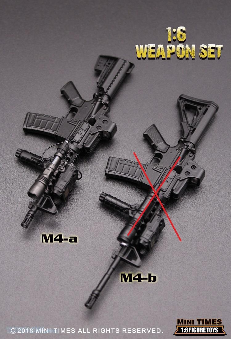 minitimes - NEW PRODUCT: MINI TIMES TOYS: 1/6 scale MR & HK416 weapons sets 73120111