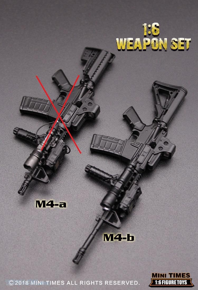 minitimes - NEW PRODUCT: MINI TIMES TOYS: 1/6 scale MR & HK416 weapons sets 73120112