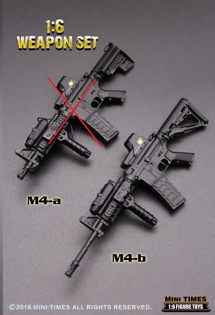 minitimes - NEW PRODUCT: MINI TIMES TOYS: 1/6 scale MR & HK416 weapons sets 73120113