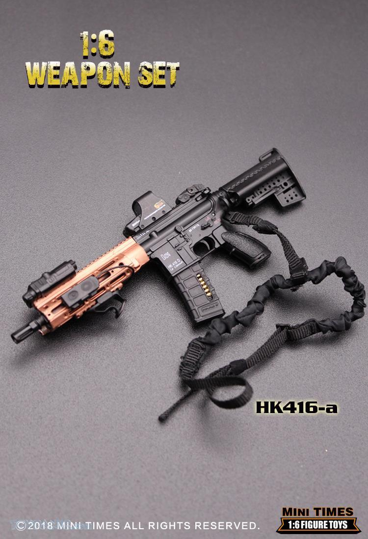 minitimes - NEW PRODUCT: MINI TIMES TOYS: 1/6 scale MR & HK416 weapons sets 73120114