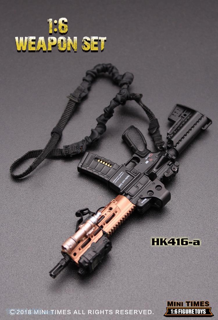 minitimes - NEW PRODUCT: MINI TIMES TOYS: 1/6 scale MR & HK416 weapons sets 73120117
