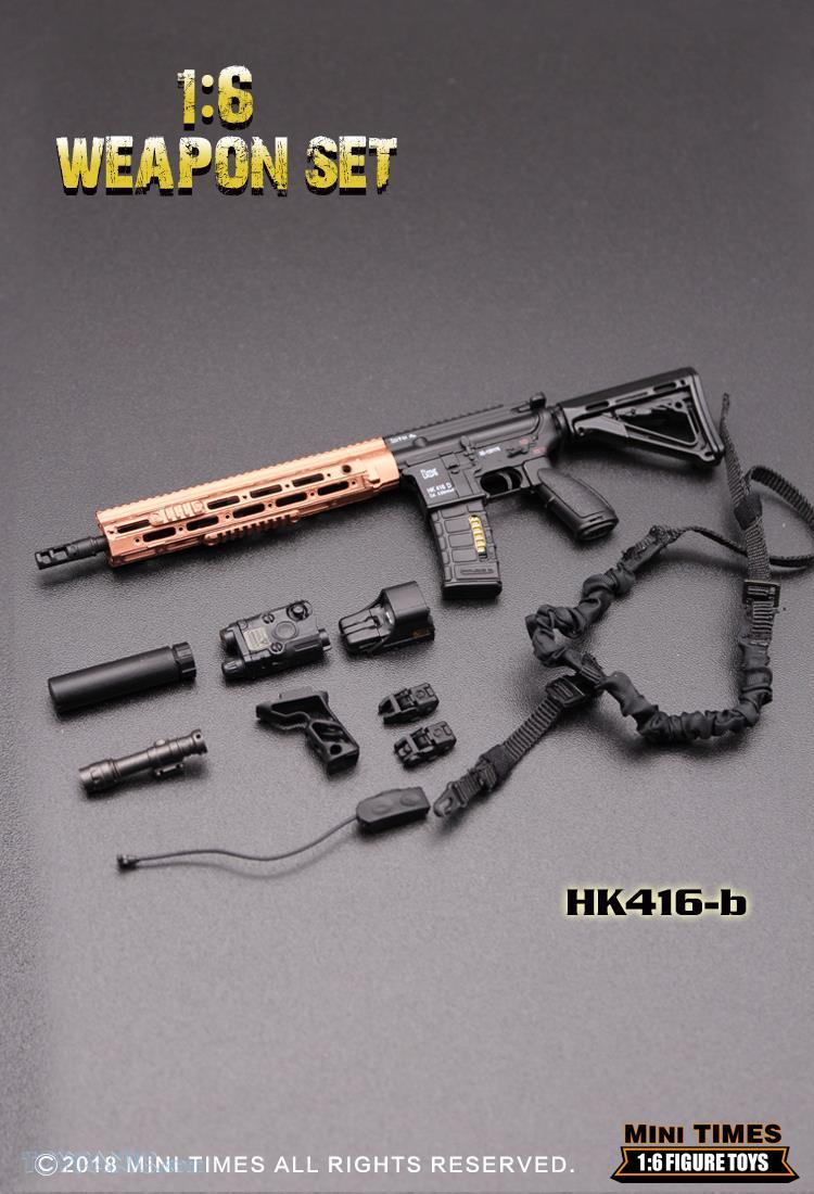 minitimes - NEW PRODUCT: MINI TIMES TOYS: 1/6 scale MR & HK416 weapons sets 73120119