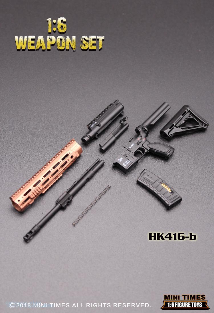 minitimes - NEW PRODUCT: MINI TIMES TOYS: 1/6 scale MR & HK416 weapons sets 73120120