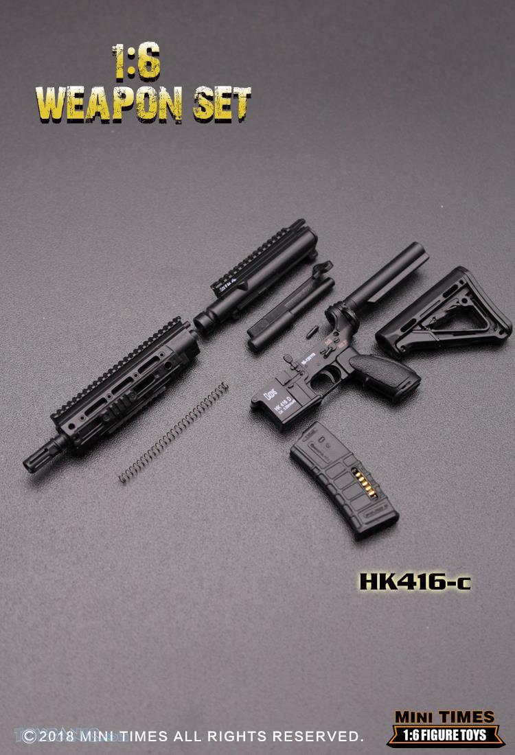 minitimes - NEW PRODUCT: MINI TIMES TOYS: 1/6 scale MR & HK416 weapons sets 73120122