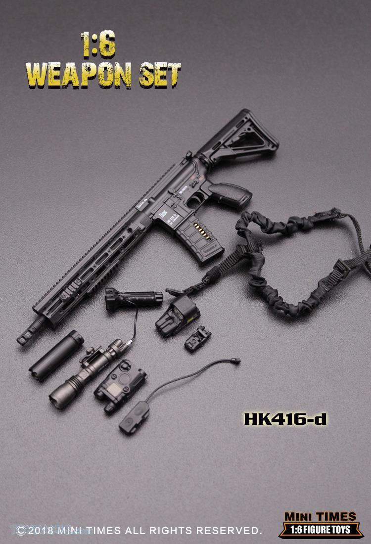 minitimes - NEW PRODUCT: MINI TIMES TOYS: 1/6 scale MR & HK416 weapons sets 73120124