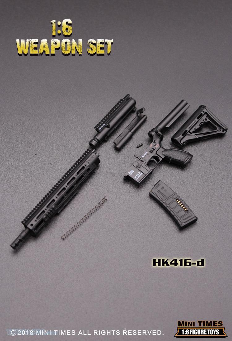 minitimes - NEW PRODUCT: MINI TIMES TOYS: 1/6 scale MR & HK416 weapons sets 73120125