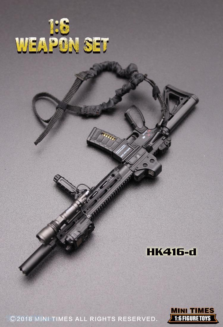minitimes - NEW PRODUCT: MINI TIMES TOYS: 1/6 scale MR & HK416 weapons sets 73120126