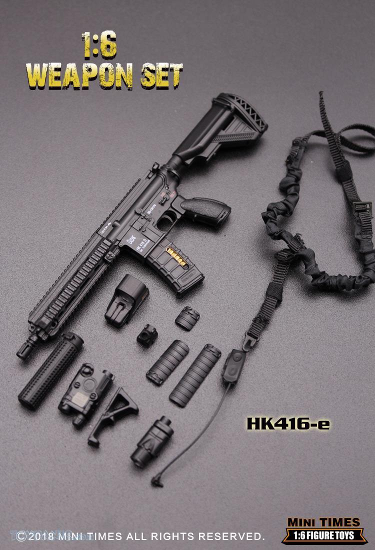 minitimes - NEW PRODUCT: MINI TIMES TOYS: 1/6 scale MR & HK416 weapons sets 73120127