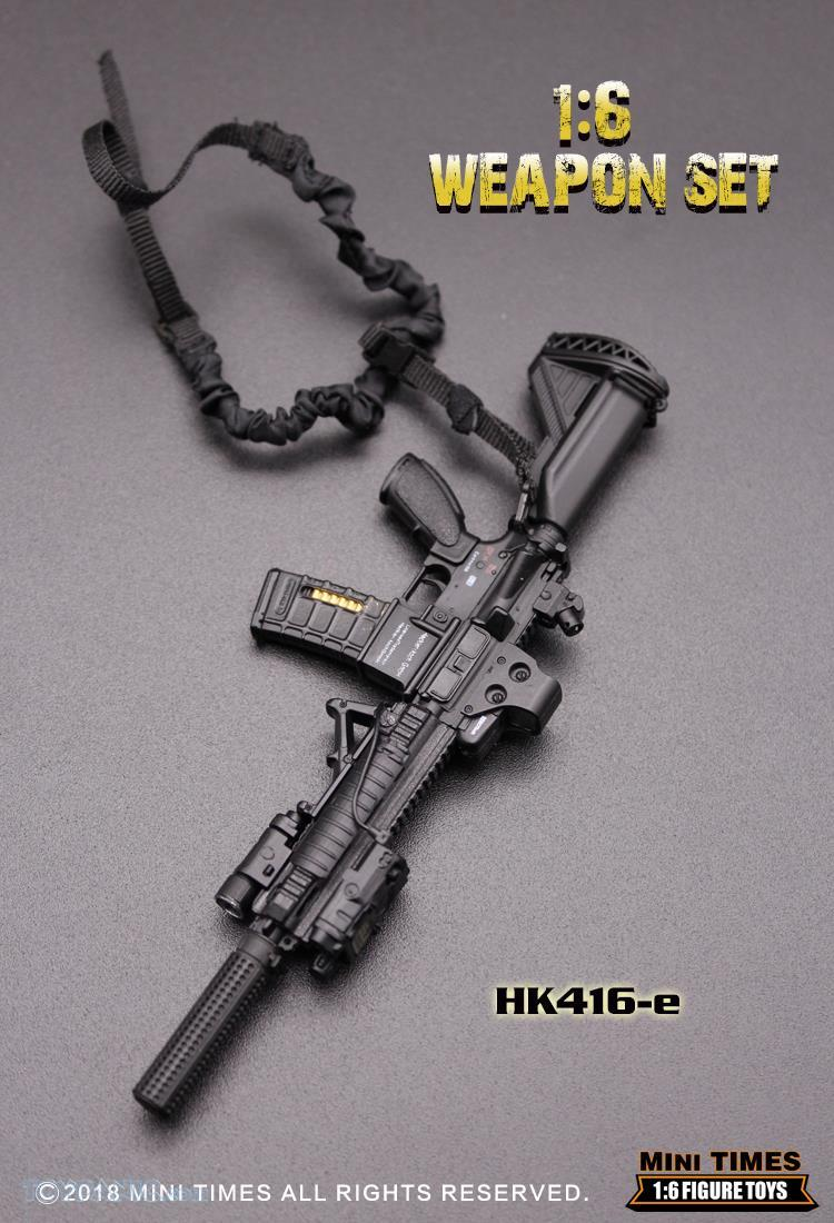 minitimes - NEW PRODUCT: MINI TIMES TOYS: 1/6 scale MR & HK416 weapons sets 73120129