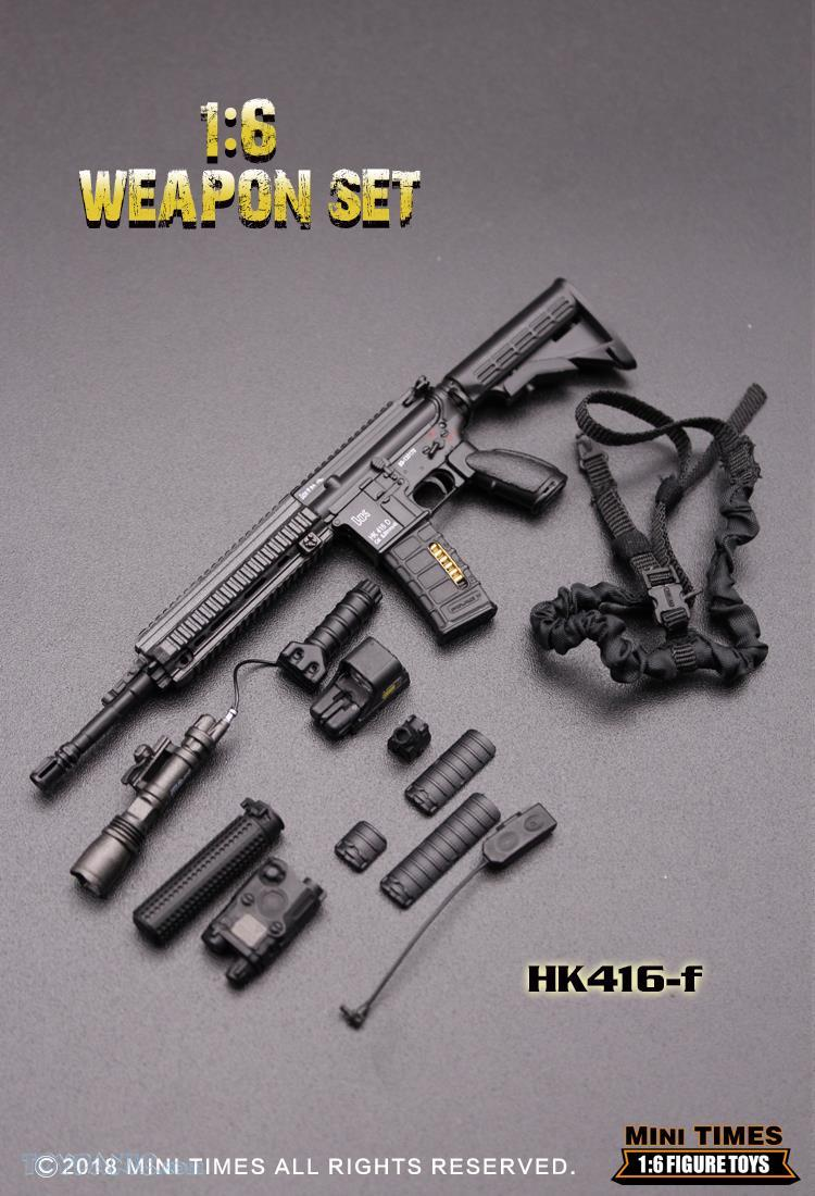 minitimes - NEW PRODUCT: MINI TIMES TOYS: 1/6 scale MR & HK416 weapons sets 73120130