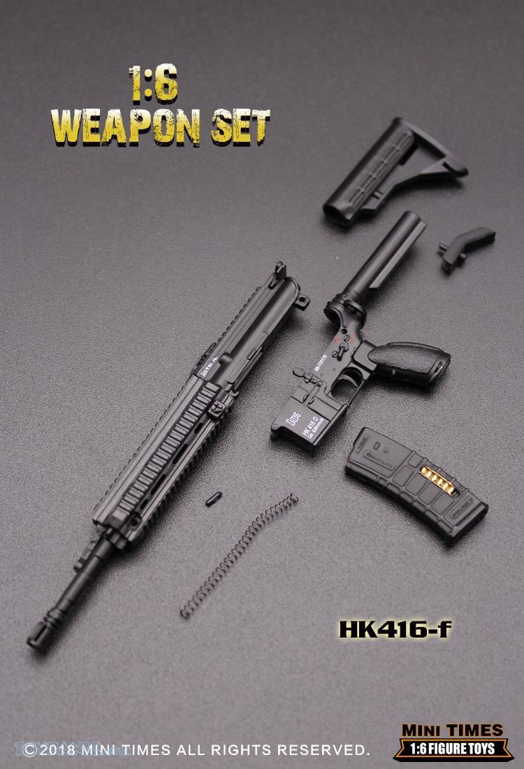 minitimes - NEW PRODUCT: MINI TIMES TOYS: 1/6 scale MR & HK416 weapons sets 73120131