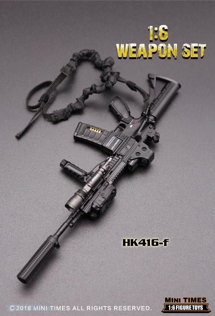 minitimes - NEW PRODUCT: MINI TIMES TOYS: 1/6 scale MR & HK416 weapons sets 73120132