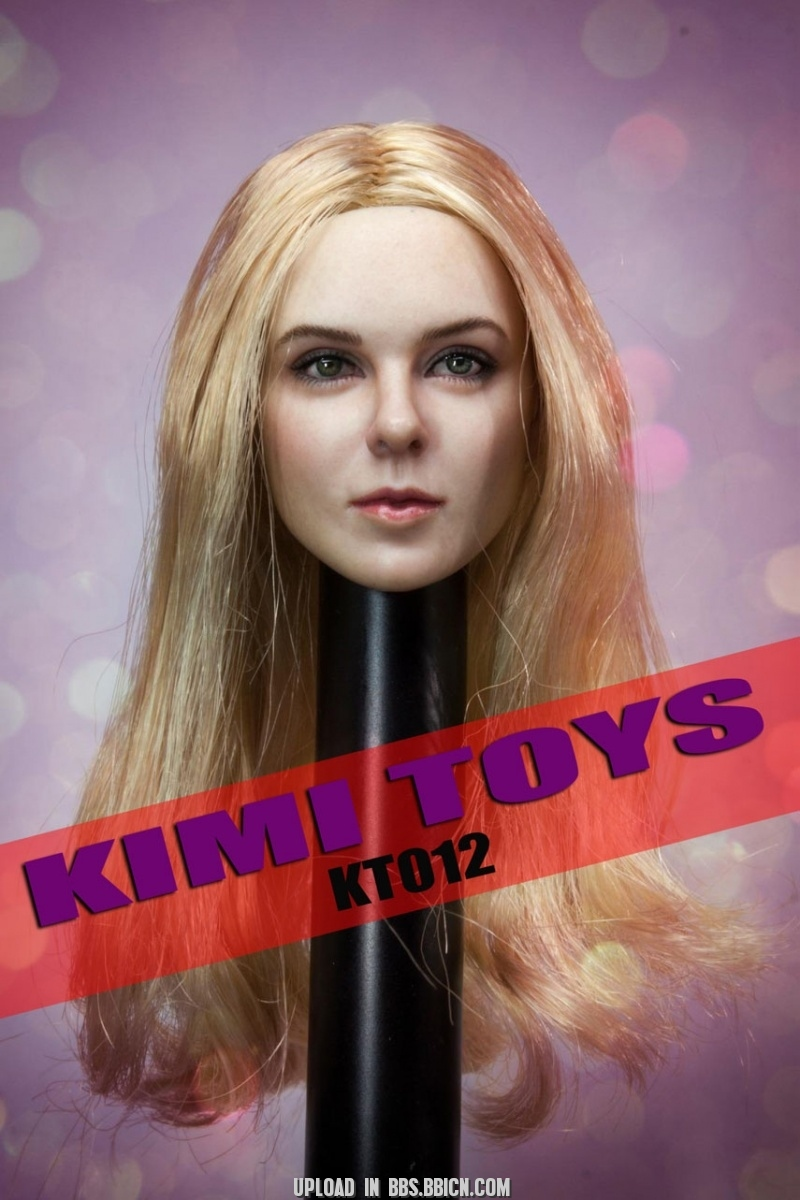 NEW PRODUCT: Kimi Toyz 1:6 European and American Female Headsculpt [KT-012] 733