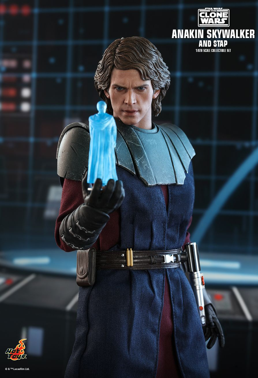 Sci-Fi - NEW PRODUCT: HOT TOYS: STAR WARS: THE CLONE WARS ANAKIN SKYWALKER AND STAP 1/6TH SCALE COLLECTIBLE SET 7333