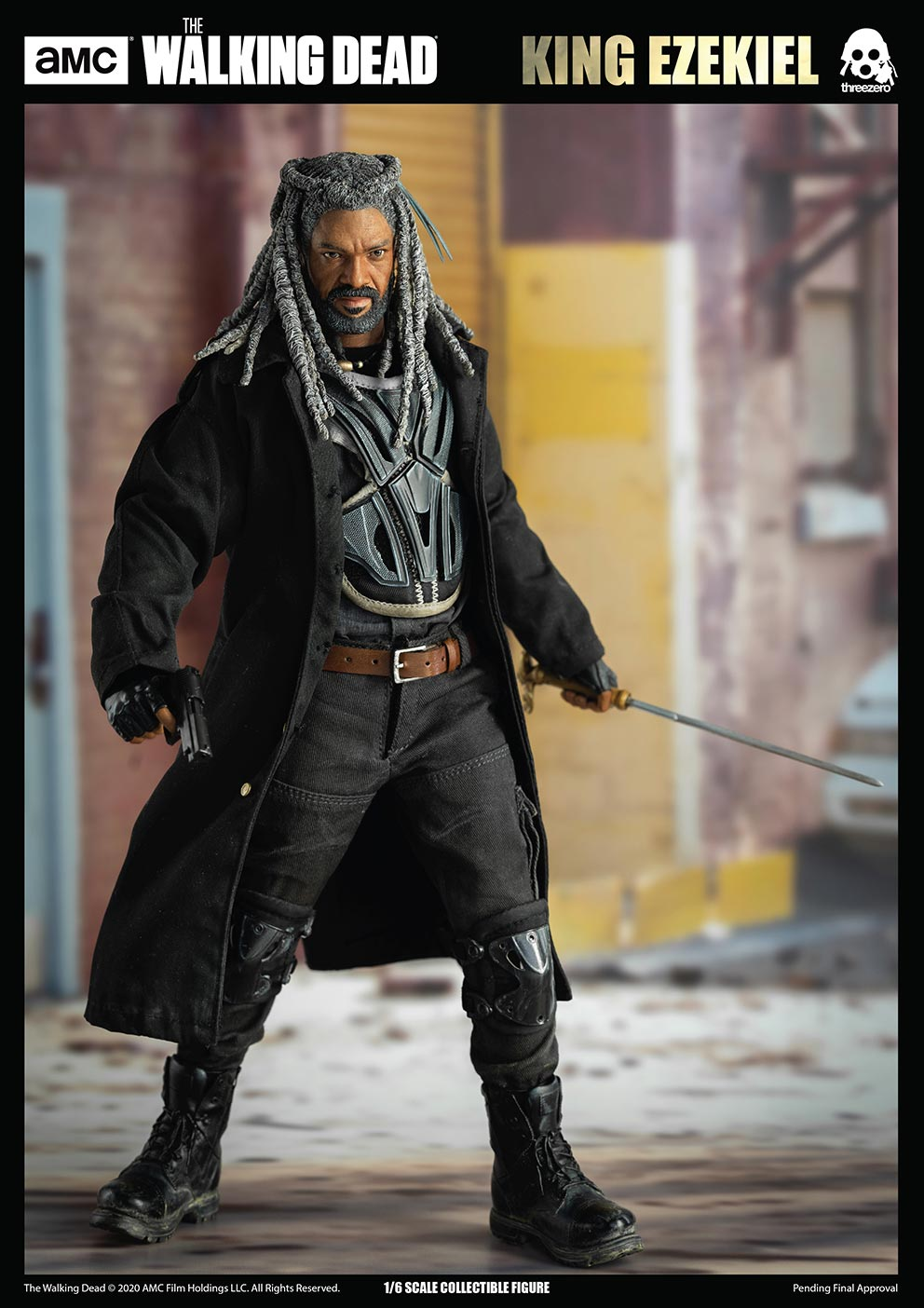 walkingdead - NEW PRODUCT: Threezero: The Walking Dead – 1/6 King Ezekiel 7337