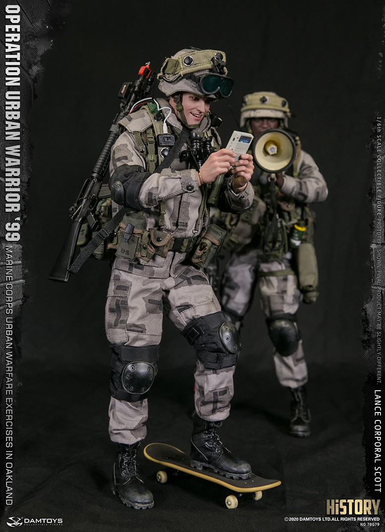 MarineCorps - NEW PRODUCT: DAMToys: 1/6 '99 City Warrior Operation-Marine Corps Oakland City Battle Exercise - Lance Corporal Scott #78079 7345