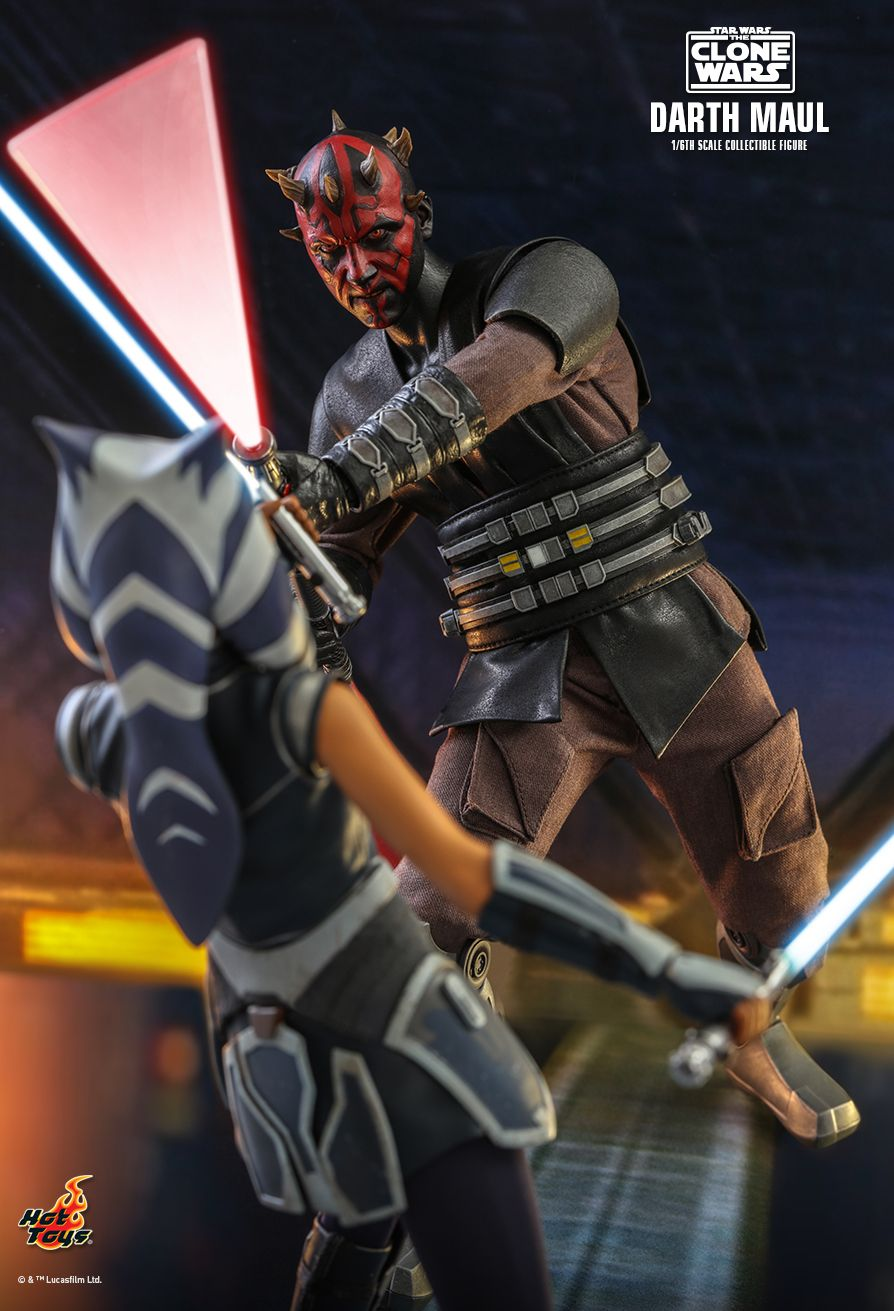 Sci-Fi - NEW PRODUCT: HOT TOYS: STAR WARS: THE CLONE WARS™ DARTH MAUL™ 1/6TH SCALE COLLECTIBLE FIGURE 7355