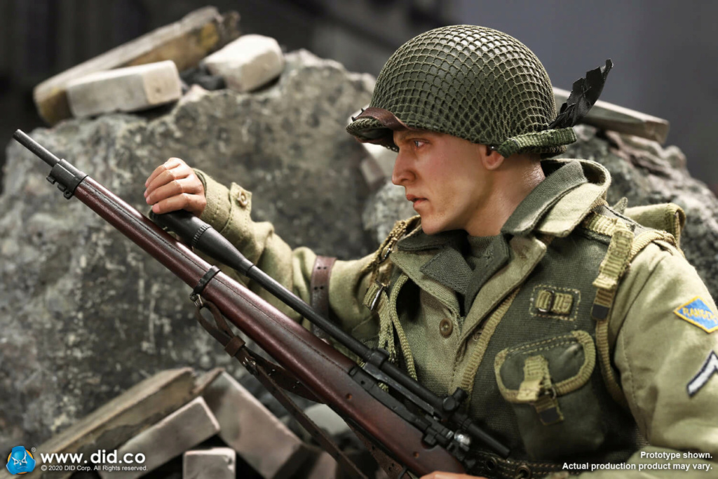 DiD - NEW PRODUCT: DiD: A80144 WWII US 2nd Ranger Battalion Series 4 Private Jackson 7366