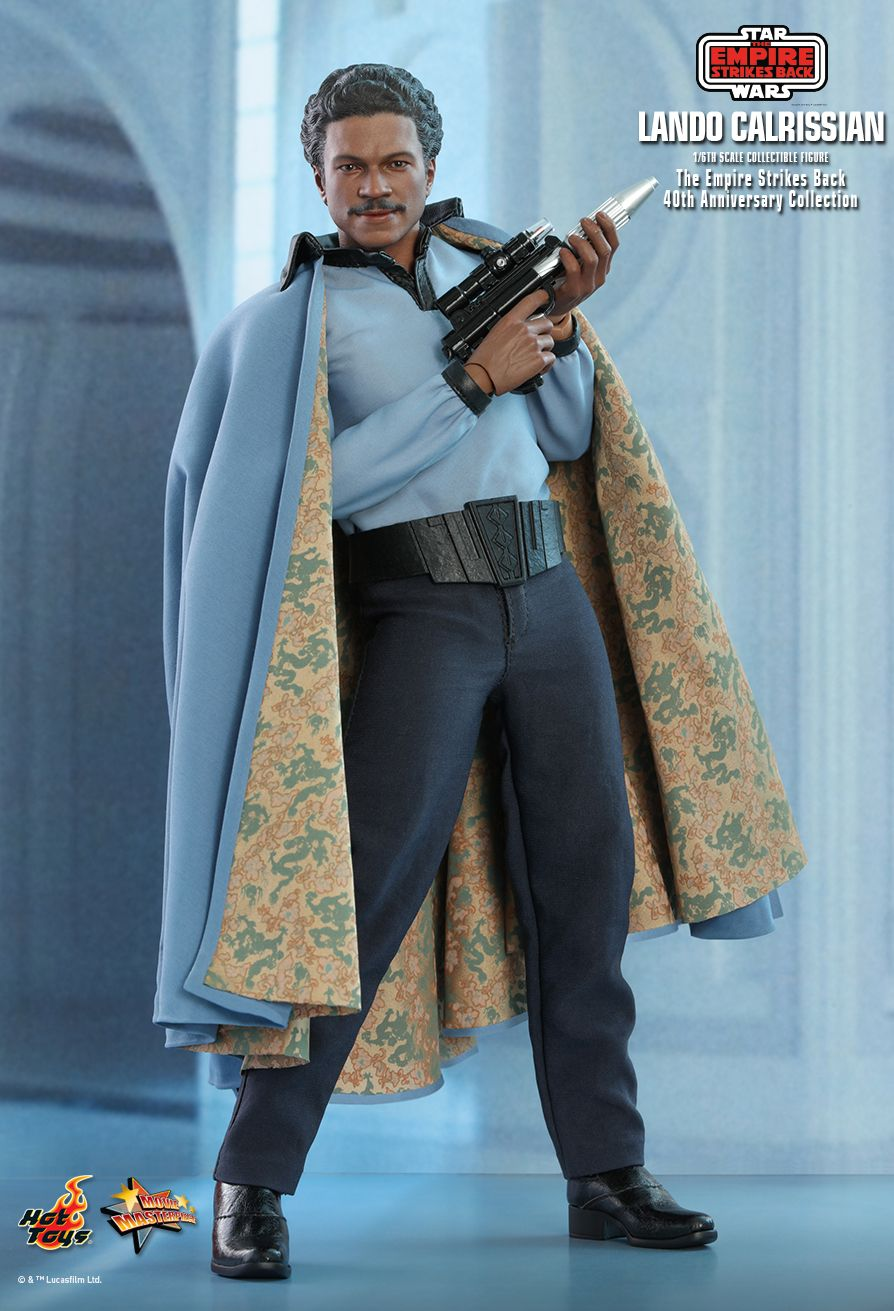 movie - NEW PRODUCT: HOT TOYS: STAR WARS: THE EMPIRE STRIKES BACK™ LANDO CALRISSIAN™ (STAR WARS: THE EMPIRE STRIKES BACK 40TH ANNIVERSARY COLLECTION) 1/6TH SCALE COLLECTIBLE FIGURE 76807810