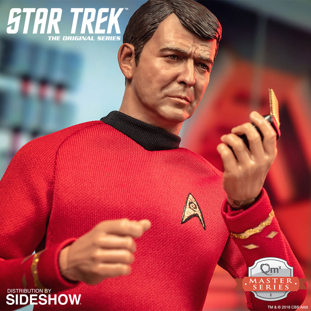 "NEW PRODUCT: Lt. Commander Montgomery Scott ""Scotty"" Sixth Scale Figure by Quantum Mechanix 784"