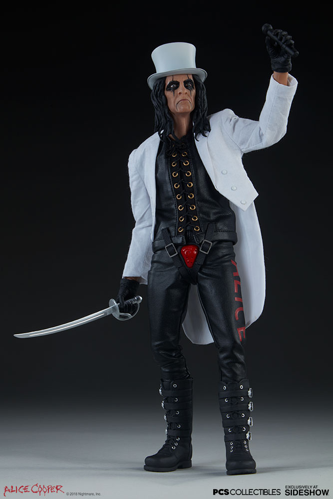 NEW PRODUCT: Alice Cooper Sixth Scale Figure by Pop Culture Shock 785