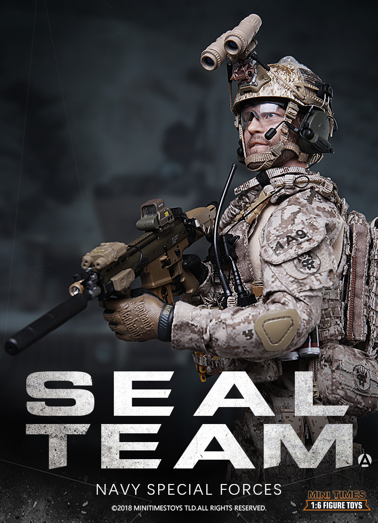 NEW PRODUCT: MINI TIMES TOYS US NAVY SEAL TEAM SPECIAL FORCES 1/6 SCALE ACTION FIGURE MT-M012 786