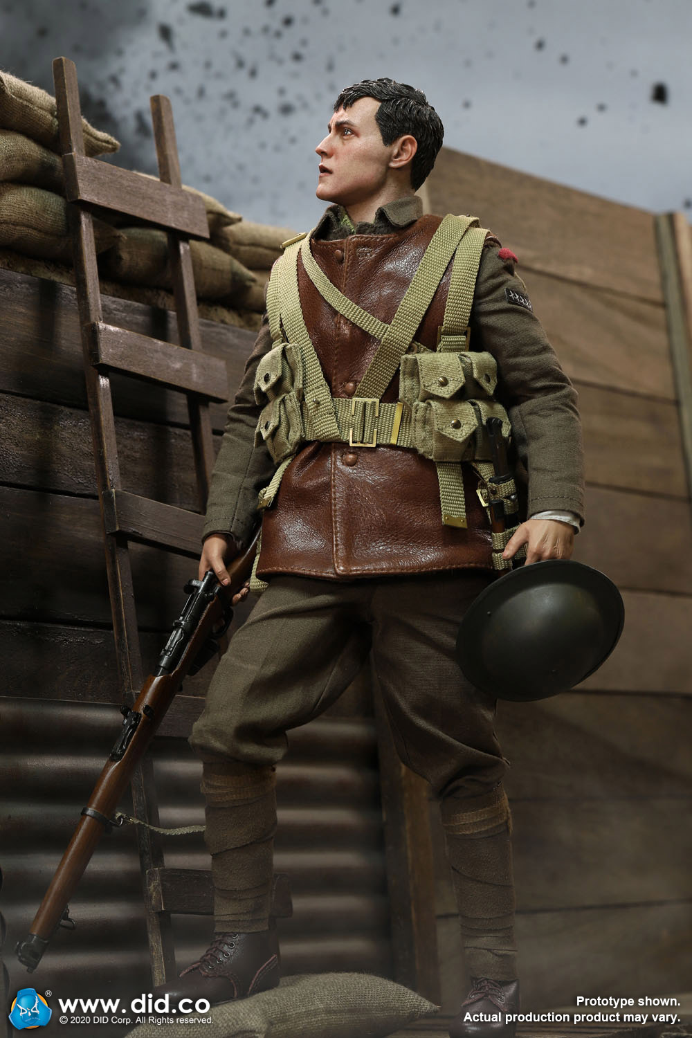 military - NEW PRODUCT: DiD: B11011 WWI British Infantry Lance Corporal William & Trench Diorama Set (UPDATED INFORMATION) 78dd6310