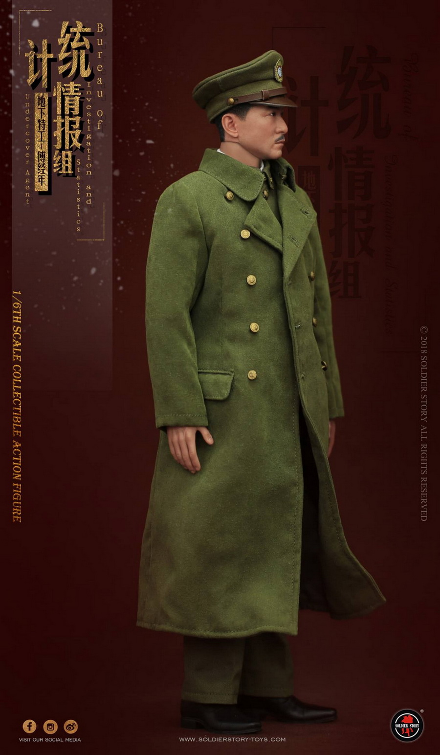 SoldierStory - NEW PRODUCT: SoldierStory new product: 1/6 World War II statistical intelligence group underground agent Fu Jingian - Shanghai 1942 (SS113#) 790