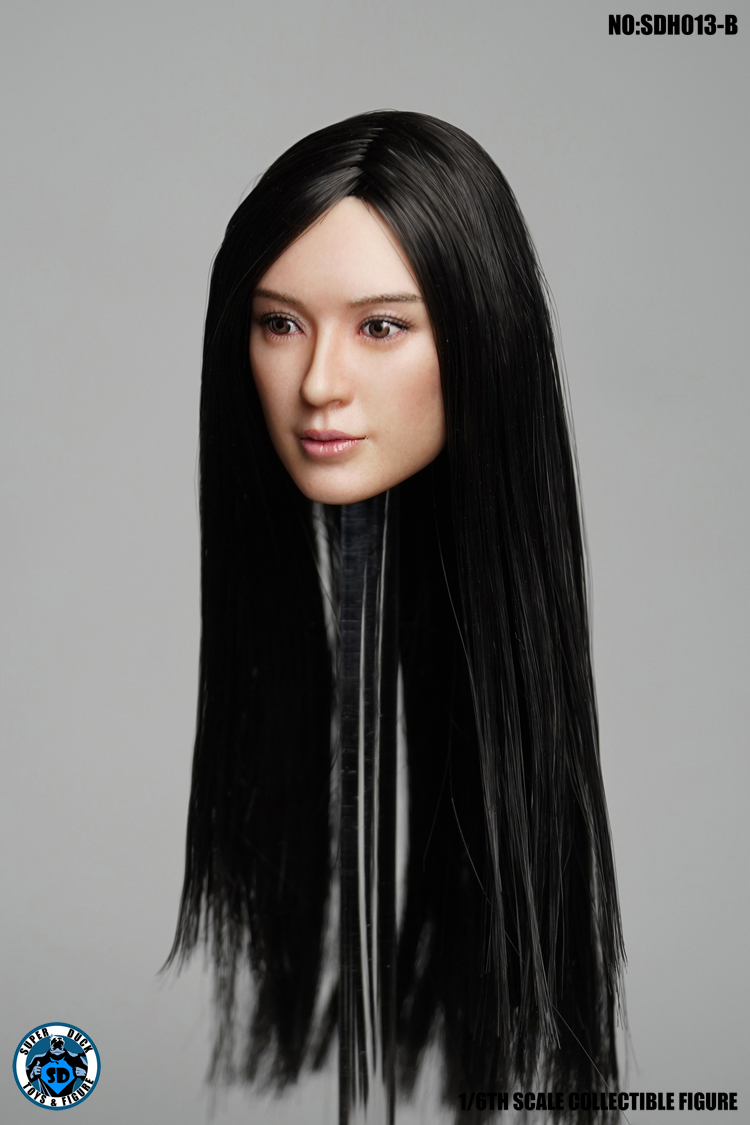 superduck - NEW PRODUCT: SUPER DUCK New product: 1/6 SDH013 female head carving - ABC three models 792