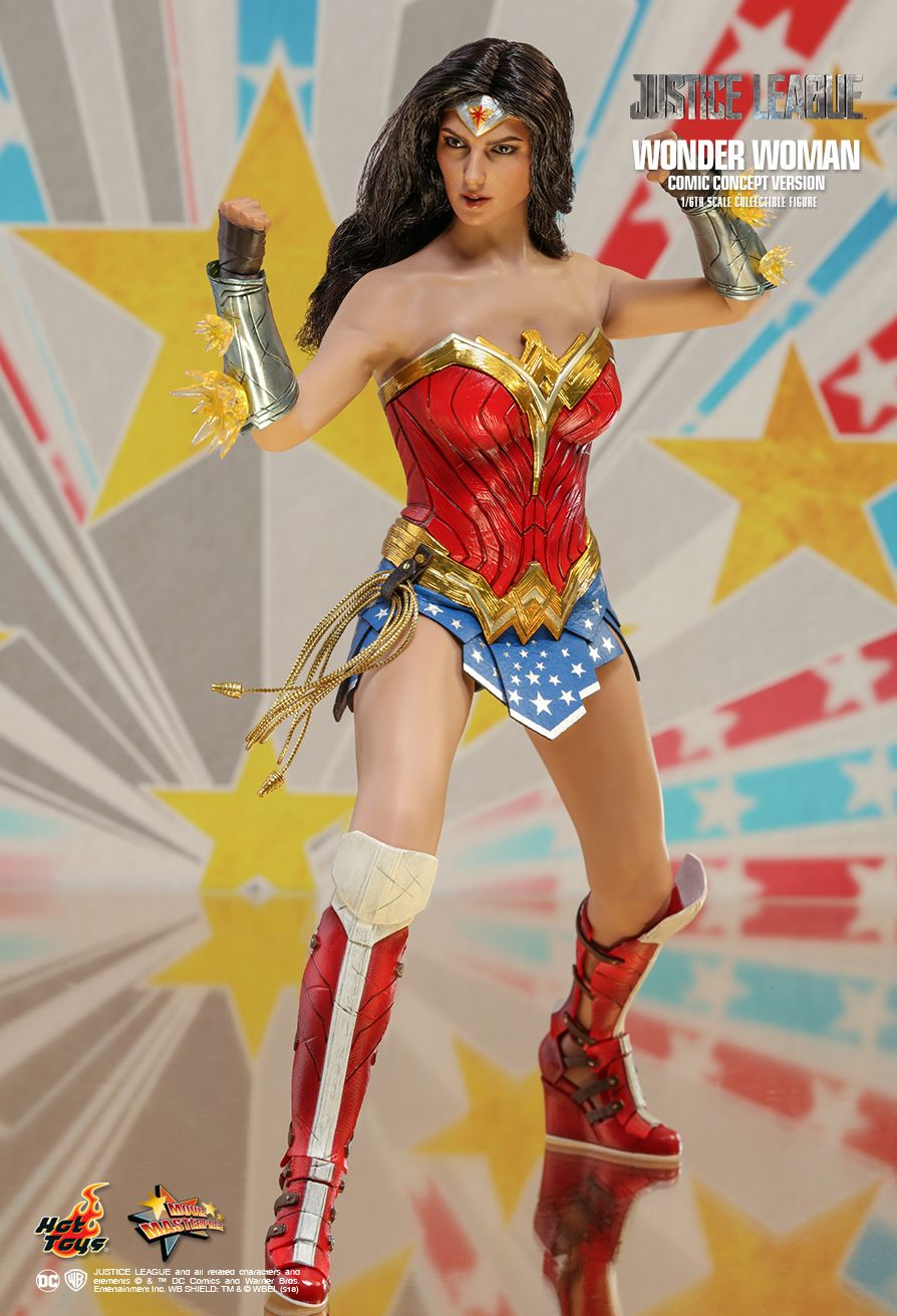 NEW PRODUCT: HOT TOYS: JUSTICE LEAGUE WONDER WOMAN (COMIC CONCEPT VERSION) 1/6TH SCALE COLLECTIBLE FIGURE 796