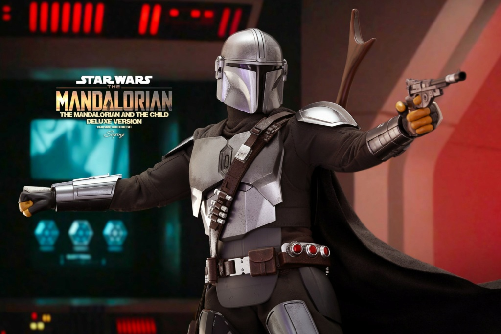 Sci-Fi - NEW PRODUCT: HOT TOYS: THE MANDALORIAN THE MANDALORIAN AND THE CHILD 1/6TH SCALE COLLECTIBLE SET (Standard and Deluxe) 7e4bb210