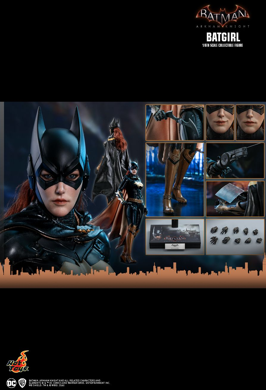 batman - NEW PRODUCT: HOT TOYS: BATMAN: ARKHAM KNIGHT BATGIRL 1/6TH SCALE COLLECTIBLE FIGURE 7f16d610