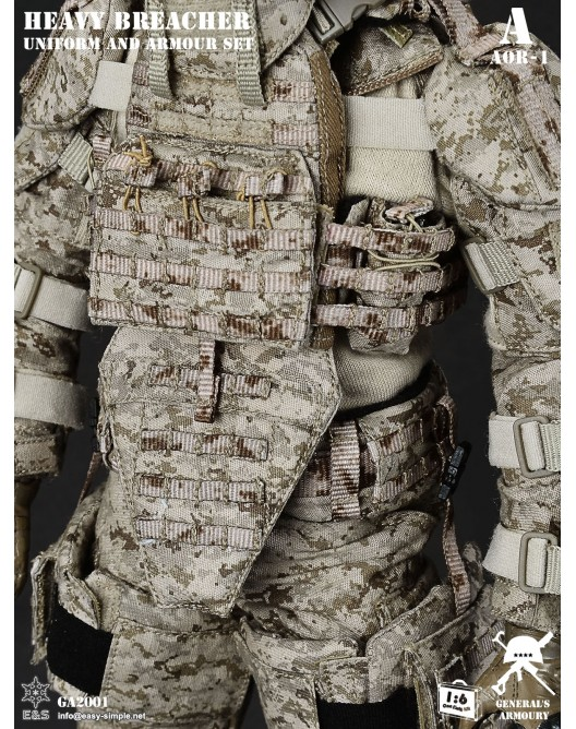 General - NEW PRODUCT: General's Armoury GA2001 1/6 Scale Heavy Breacher Uniform and Armour Set 8-528x11
