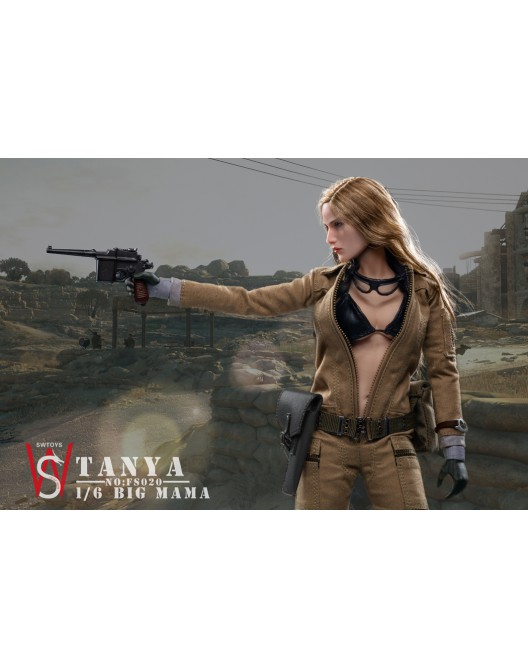 military - NEW PRODUCT: Swtoys FS020 1/6 Scale Big Mama (Tanya) action figure 8-528x17