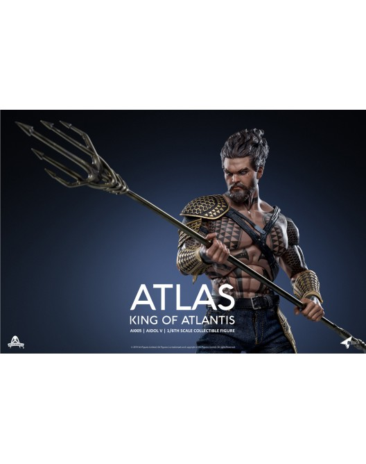 NEW PRODUCT: Art Figure AI-005 1/6 Scale King of Atlantis ATLAS 8-528x21
