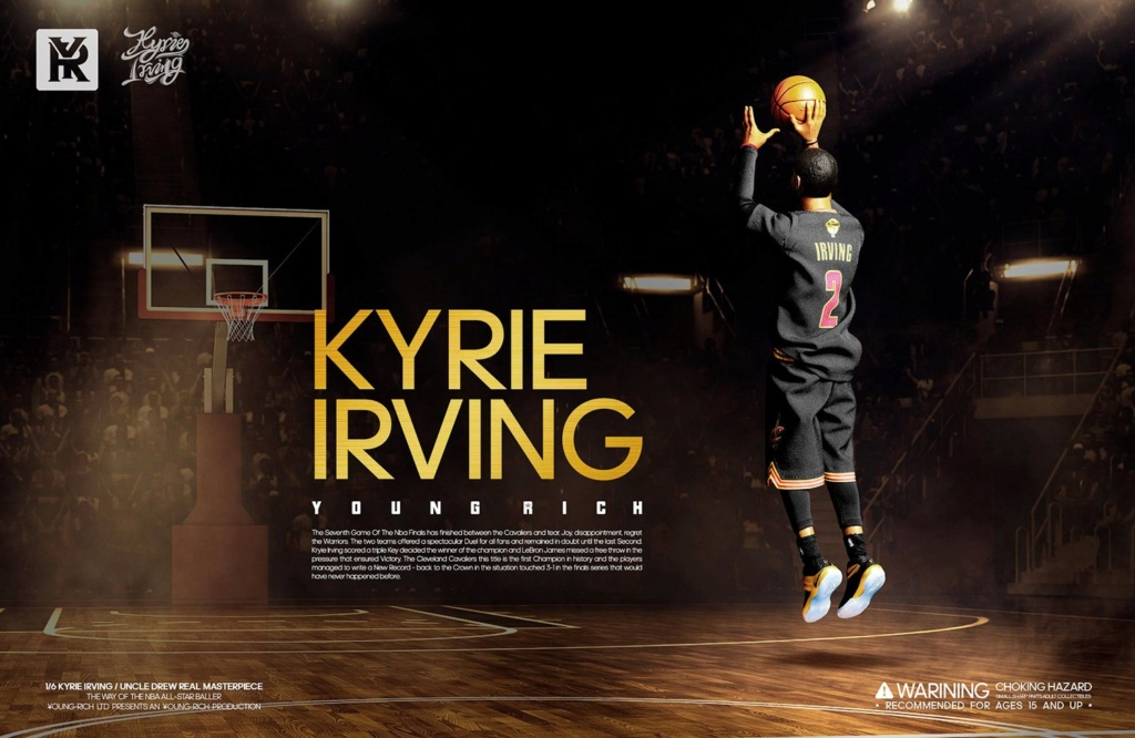 YoungRichToys - NEW PRODUCT: 1/6 Scale YOUNG RICH TOYS B001 KYRIE IRVING & UNCLE DREW Action Figure (standard & Deluxe) 80dcad10