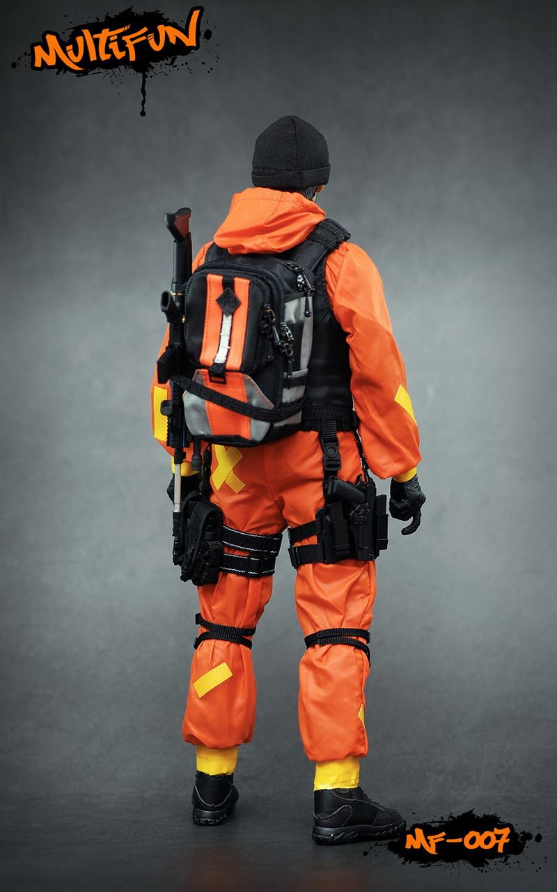 NEW PRODUCT: MULTIFUN 1/6th scale Quarantine Zone Agent 12-inch action figure Set 8111