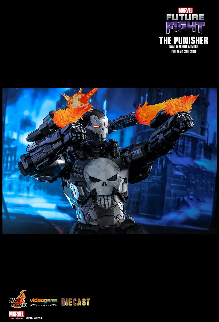 Videogame - NEW PRODUCT: HOT TOYS: MARVEL FUTURE FIGHT THE PUNISHER (WAR MACHINE ARMOR) 1/6TH SCALE COLLECTIBLE FIGURE 8121