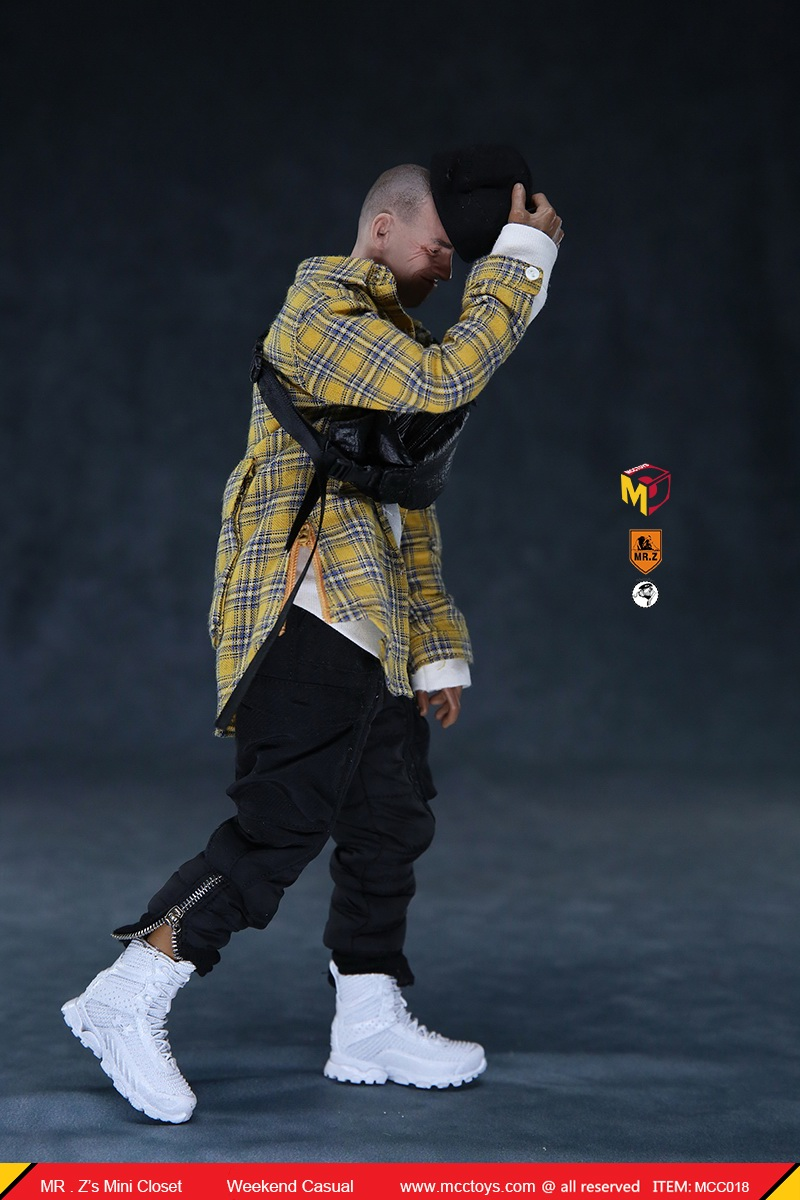 MCCTOys - NEW PRODUCT: MCCToys x Mr.Z: 1/6 Z's Mini Closet Series - Weekend Casual Set (MCC01#) 8126
