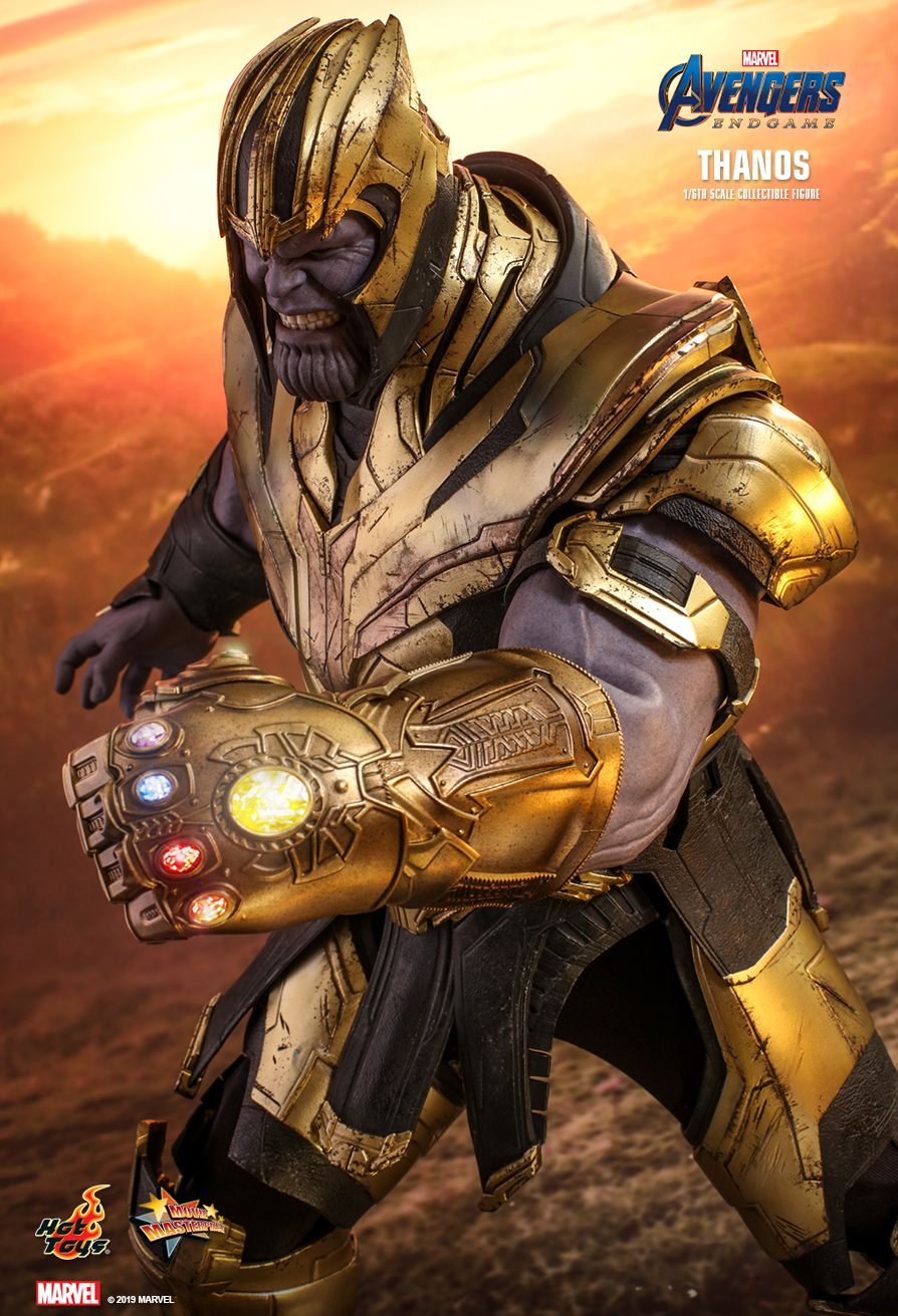 Thanos - NEW PRODUCT: HOT TOYS: AVENGERS: ENDGAME THANOS 1/6TH SCALE COLLECTIBLE FIGURE 8156