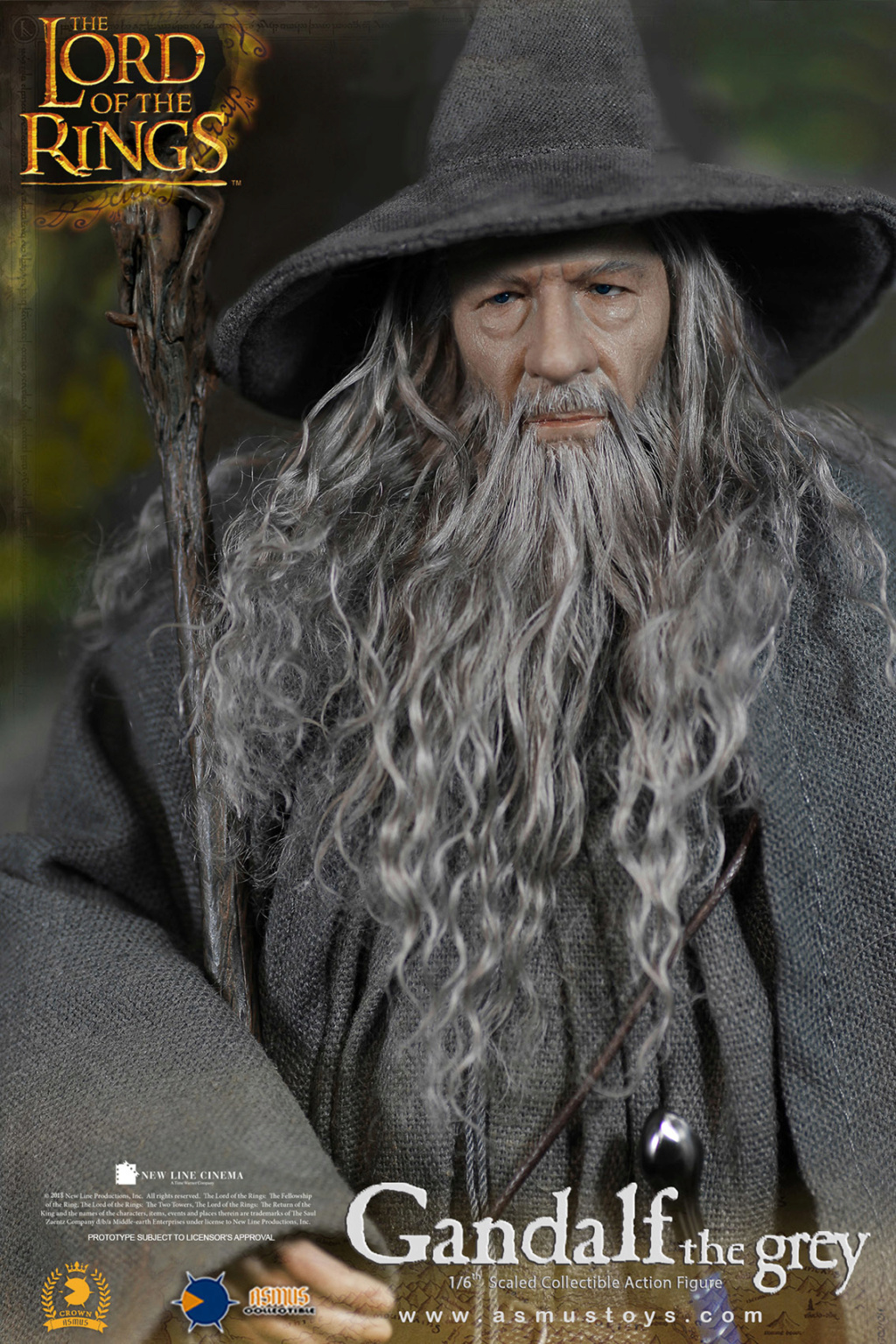 lordoftherings - NEW PRODUCT: ASMUS TOYS THE CROWN SERIES : GANDALF THE GREY 1/6 figure 8201