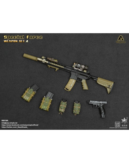 NEW PRODUCT: Easy&Simple: 06018 1/6 Scale PMC Weapon Set in 3 Styles & 06019 1/6 Scale Doom's Day Weapon Set in 3 Styles 8202