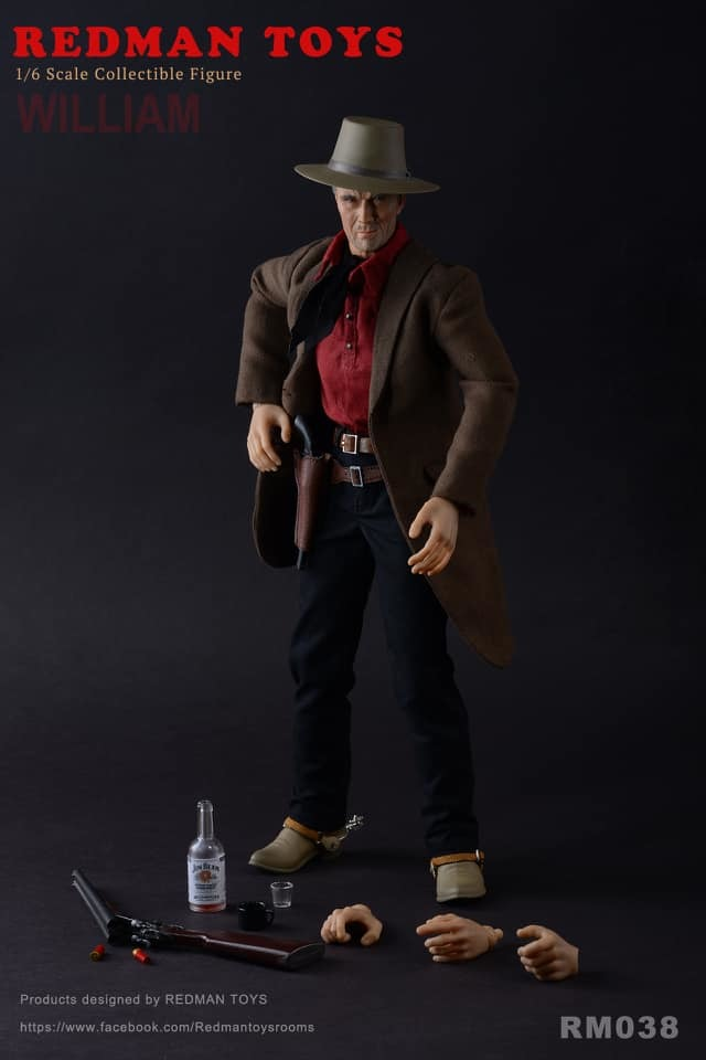 NEW PRODUCT: Redman: [RMT-038] The Cowboy Unforgiven William 8204