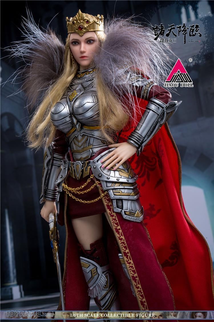 Videogame - NEW PRODUCT: JIAOU DOLL: Angel Yan 1/6 scale figure (3 versions: Crown, Queen, & Normal) 82120124