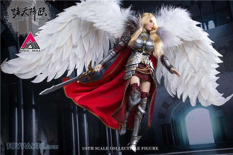 Videogame - NEW PRODUCT: JIAOU DOLL: Angel Yan 1/6 scale figure (3 versions: Crown, Queen, & Normal) 82120128