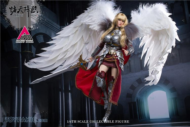 Videogame - NEW PRODUCT: JIAOU DOLL: Angel Yan 1/6 scale figure (3 versions: Crown, Queen, & Normal) 82120129