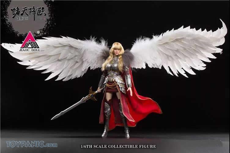 Videogame - NEW PRODUCT: JIAOU DOLL: Angel Yan 1/6 scale figure (3 versions: Crown, Queen, & Normal) 82120131