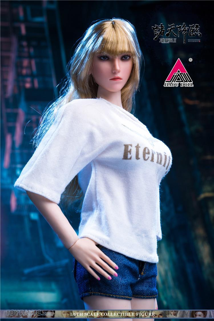 Videogame - NEW PRODUCT: JIAOU DOLL: Angel Yan 1/6 scale figure (3 versions: Crown, Queen, & Normal) 82120138